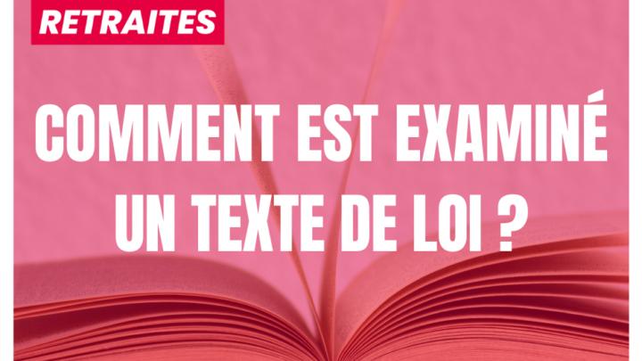 Lexique I Comment est examiné un texte de loi ?