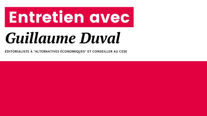Une réforme des retraites génératrice d'inégalités et de risques pour l'économie française  I Entretien n°2 avec Guillaume Duval