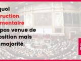 Pourquoi l'obstruction parlementaire n'est pas venue de l'opposition mais de la majorité !